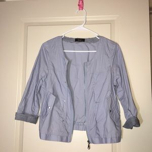 Jackets & Blazers - Cute light purple zipper jacket